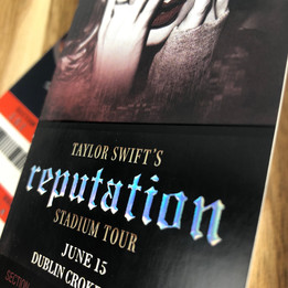 Taylor Swift   Concert Ticket Printing