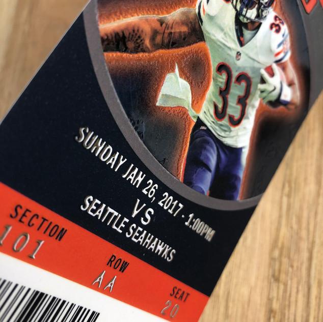 Bears   Sports Ticket Printing