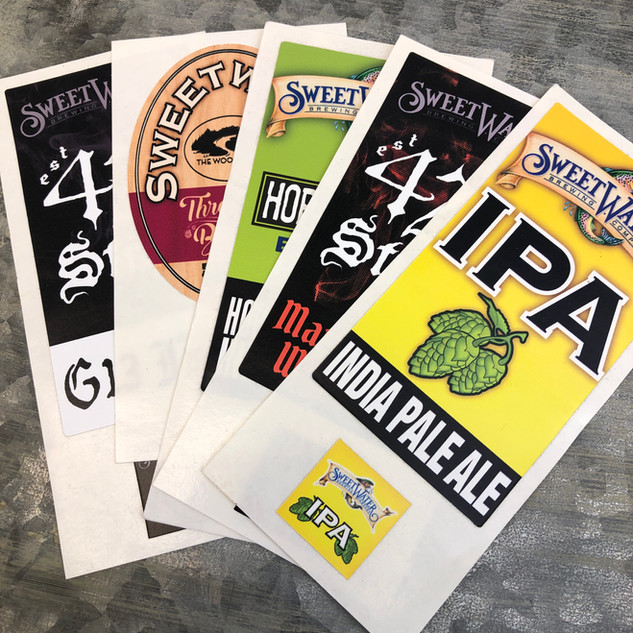 SweetWater | Tap Handle Stickers