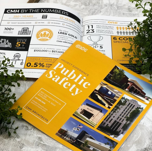 CMH Architects | Booklet Printing