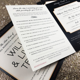 DMS Color | Half-Fold Invitations
