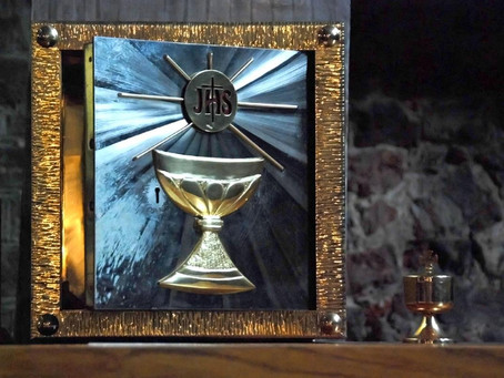 Patrick Speaks on The Eucharist: The Real Presence
