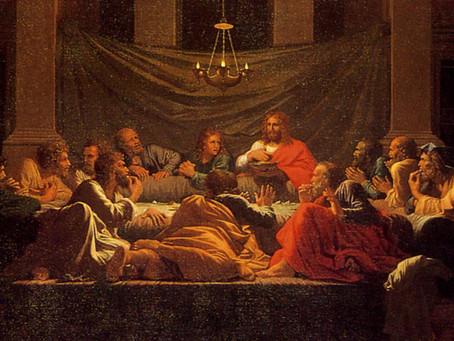 Patrick Sullivan speaks on the Eucharist as Thanksgiving