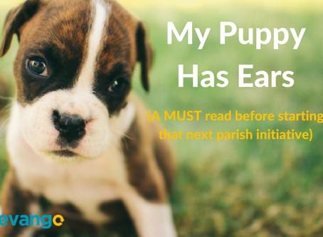 My Puppy Has Ears