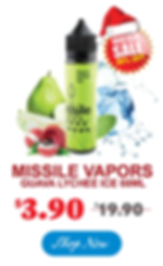 MISSILE-VAPORS-GUAVA-LYCHEE-ICE-60ML--On