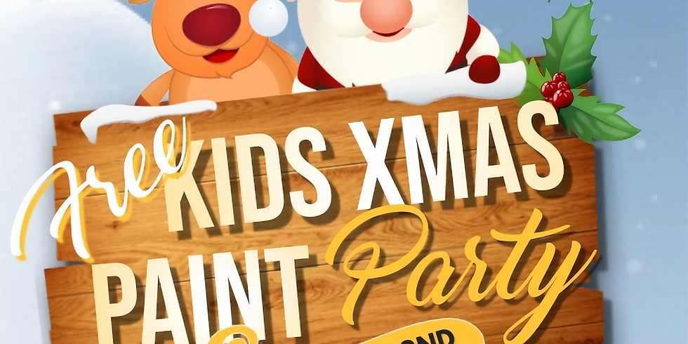 Kids Xmas Paint Party