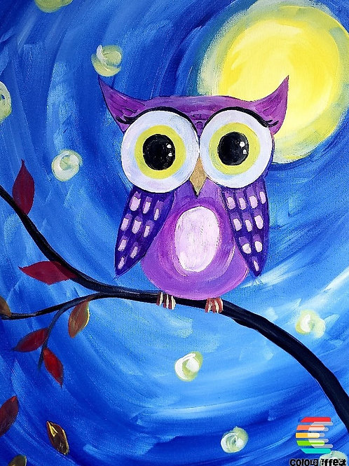 Night Owl - Set of 5 Paint Kits