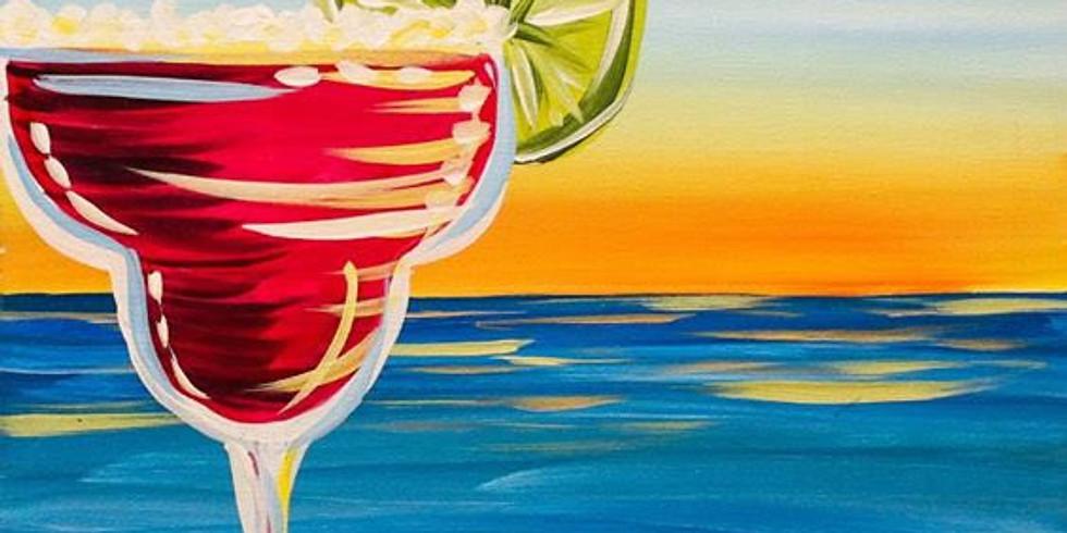 Margherita at Sunset
