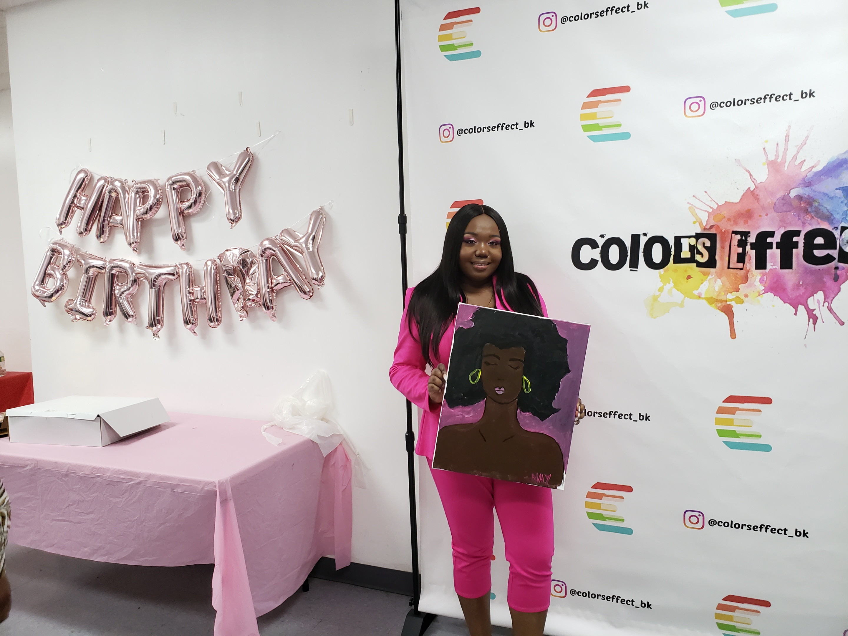 Adult Birthday Paint Party