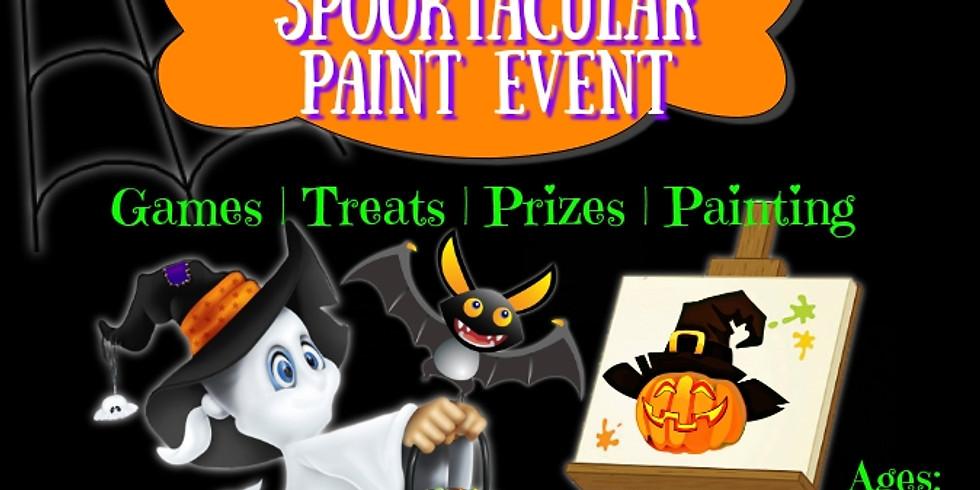Kids Spooktacular Paint Event