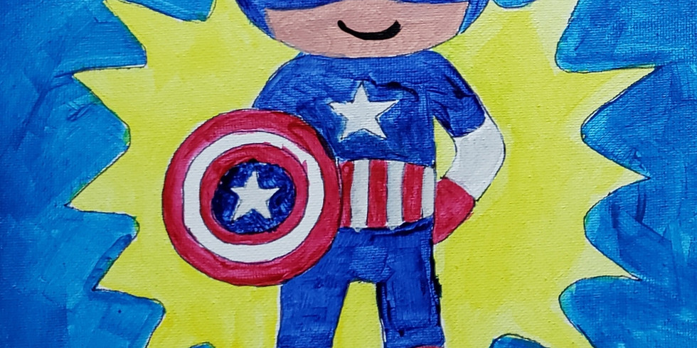 Avengers Paint & Slime Event
