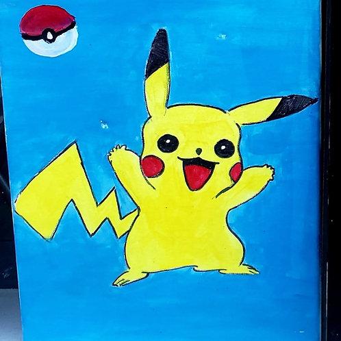 Pokemon: Pikachu - Set of 5 Paint Kits
