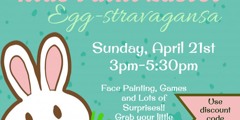 Kids Paint Easter Egg-stravagansa