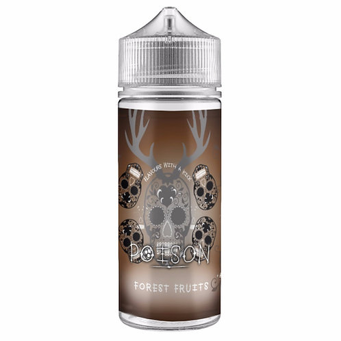 Forest Fruits by Poison E Liquid 120ml Shortfill