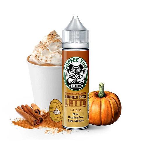 Pumpkin Spice Latte by Coffee Time E Liquid 60ml Shortfill