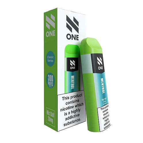 Menthol N One Disposable Nicotine Salt Pod