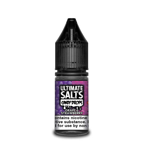Grape & Strawberry Candy Drops Nic Salt by Ultimate Puff E Liquid