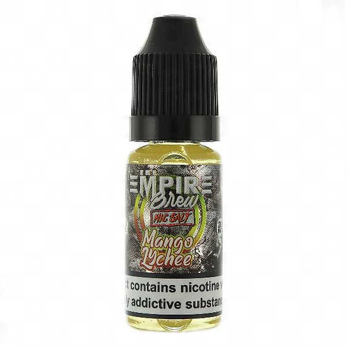 Mango Lychee Nic Salt by Empire Brew E Liquid