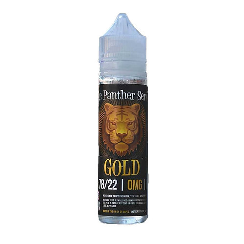 Gold Panther by Dr Vapes E Liquid 60ml Shortfill