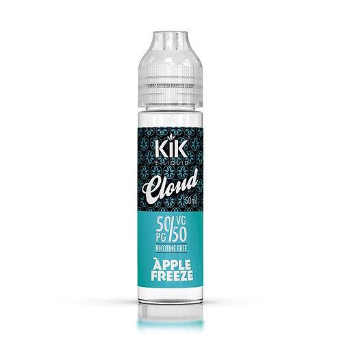 Apple Freeze by Kik E Liquid 60ml Shortfill