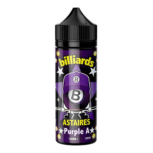 Purple A Astaires by Billiards E Liquid 120ml Shortfill