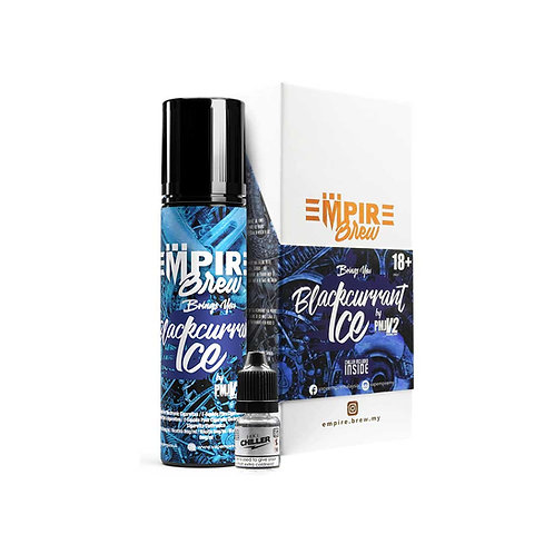 Blackcurrant Ice (No Mint) by Empire Brew E Liquid 60ml Shortfill