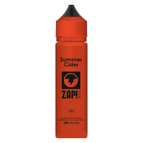 Summer Cider by Zap Juice E Liquid 60ml Shortfill