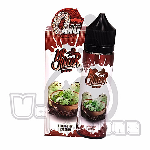 Choco Chip Ice Cream by Mr Juicer E Liquid 60ml Shortfill