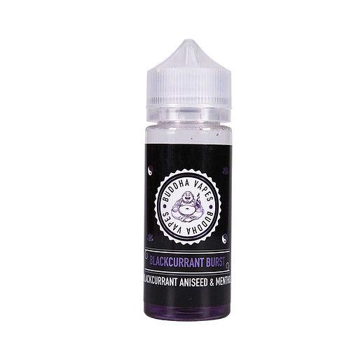 Blackcurrant Burst by Buddha Vapes E Liquid 120ml Shortfill
