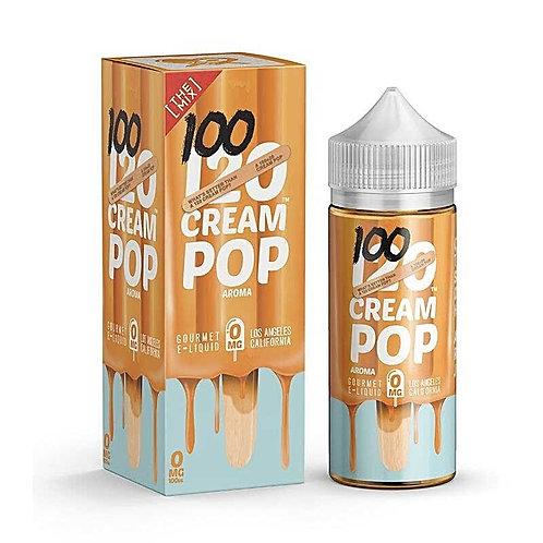 120 Cream Pop by Mad Hatter Juice E Liquid 120ml Shortfill