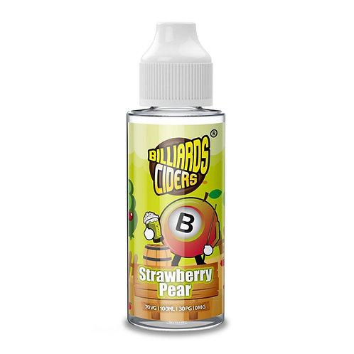 Strawberry Pear Ciders by Billiards E Liquid 120ml Shortfill
