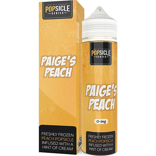 Paige's Peach Popsicle Series by One Hit Wonder E Liquid 60ml Shortfill