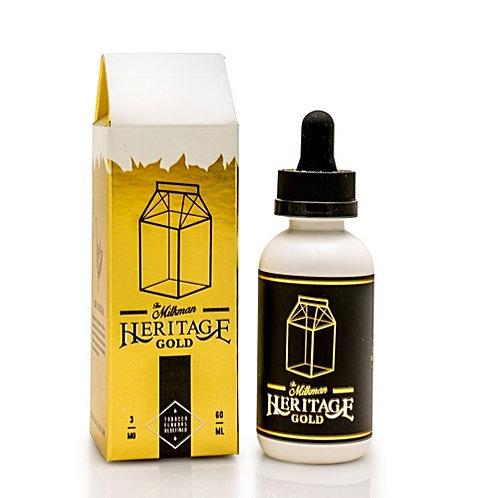 Gold Heritage by The Milkman E Liquid 60ml Shortfill