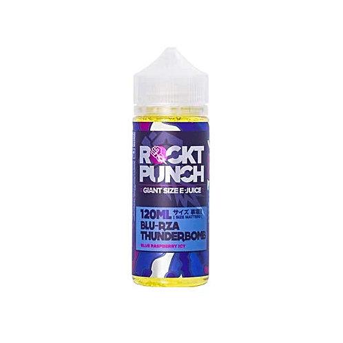 Blu Rza Thunderbomb by Rockt Punch E Liquid 120ml Shortfill