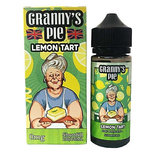 Granny's Pie Lemon Tart by Vape Breakfast Classics E Liquid 120ml Shortfill