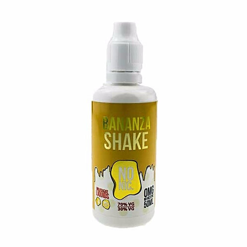 Bananza Shake by Milkshake Liquids E Liquid 60ml Shortfill
