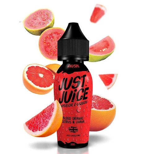 Blood Orange, Citrus & Guava by Just Juice E Liquid 60ml Shortfill