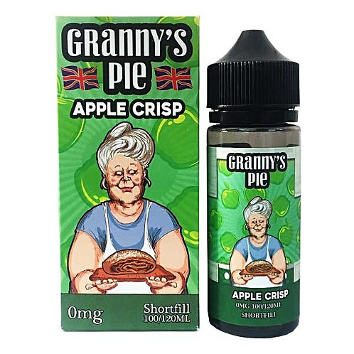 Granny's Pie Apple Crisp by Vape Breakfast Classics E Liquid 120ml Shortfill