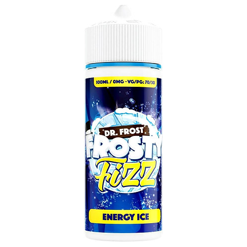 Frosty Fizz Energy Ice by Dr Frost E Liquid 120ml Shortfill