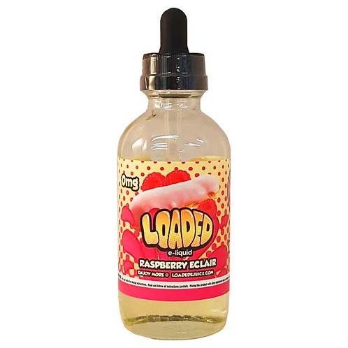 Raspberry Eclair by Loaded E Liquid 120ml Shortfill