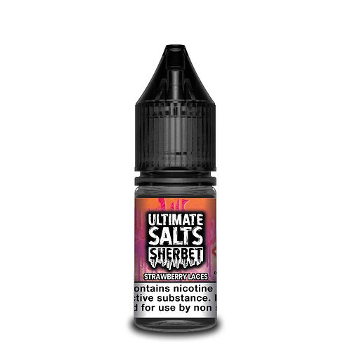 Strawberry Laces Sherbet Nic Salt by Ultimate Puff E Liquid