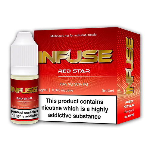 Red Star By Infuse E Liquid
