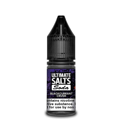 Blackcurrant Crush Soda Nic Salt by Ultimate Puff E Liquid