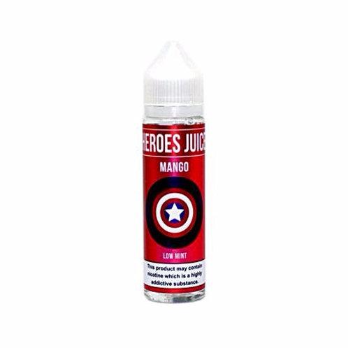 Mango by Heroes Juice E Liquid 60ml Shortfill