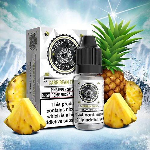 Caribbean Twist Nic Salt by Buddha Vapes E Liquid