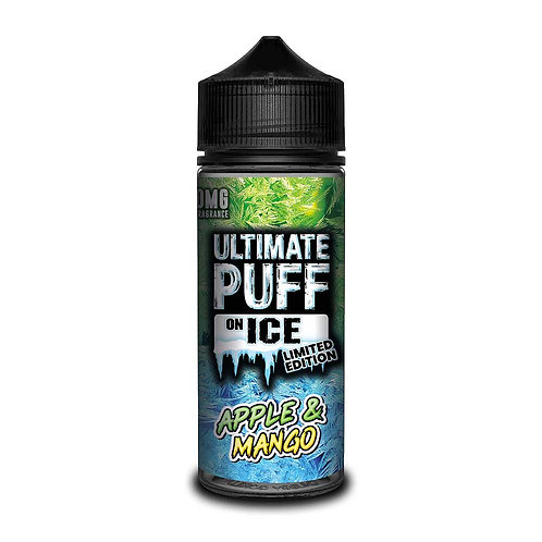 Apple & Mango On Ice Limited Edition by Ultimate Puff E Liquid 120ml Shortfill