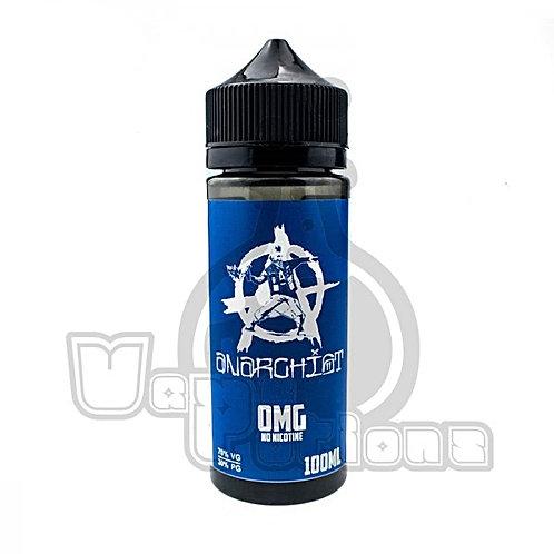 Blue by Anarchist E Liquid 120ml Shortfill