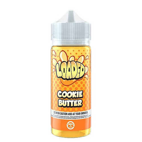 Cookie Butter by Loaded E Liquid 120ml Shortfill