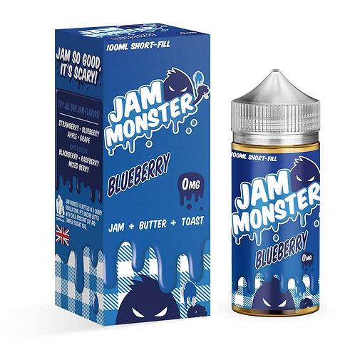 Blueberry by Jam Monster E Liquid 120ml Shortfill