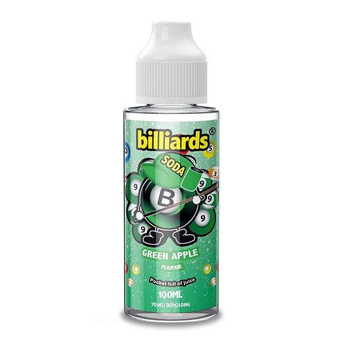 Green Apple Soda by Billiards E Liquid 120ml Shortfill